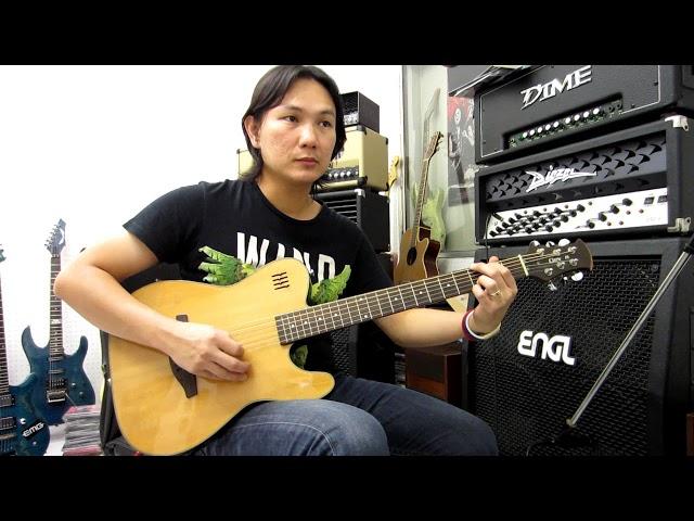 ??????????? Clevan EA-20 Electric Acoustic Guitar