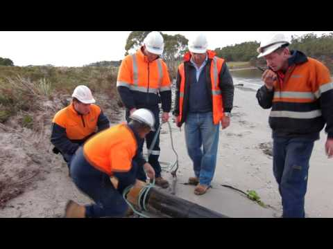 New Sewer Ocean Outfall at Orford, Tasmania