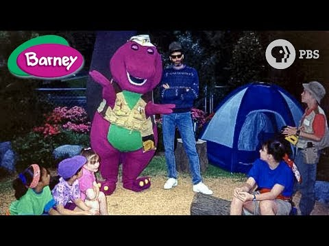 Barney & Friends | PBS | A-Camping We Will Go! | Season 1; Episode 22 | full in HD
