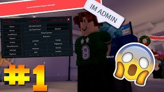 TROLLING AND EXPLOITING HILTON HOTELS | ROBLOX EXPLOITING #1