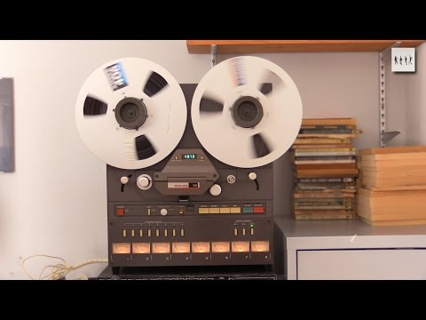 Baking Ampex Tapes