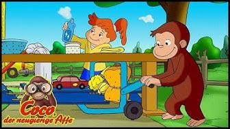 Coco der Neugierige | Die Autowaschanlage | Cartoons für Kinder
