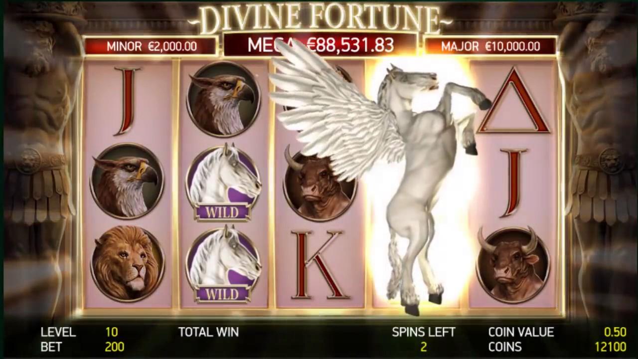 Slot Machine Level Devine Fortune