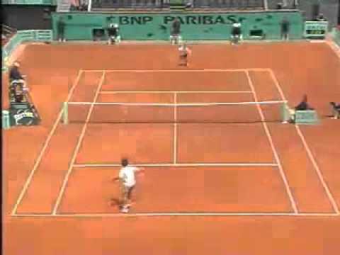 Gustavo Kuerten vs Michael Russell: R16 Roland Garros 2001