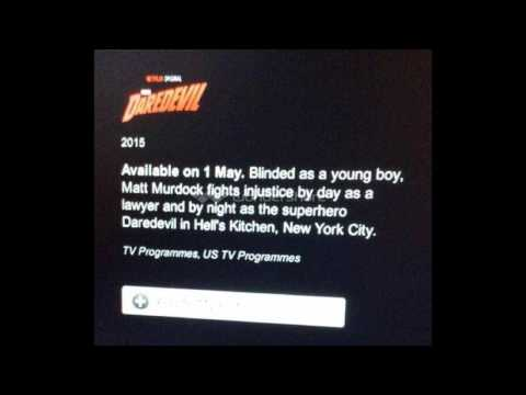 Marvel Studios Daredevil Netflix Series Debut Release Date Leaked!! (1st May 2015)
