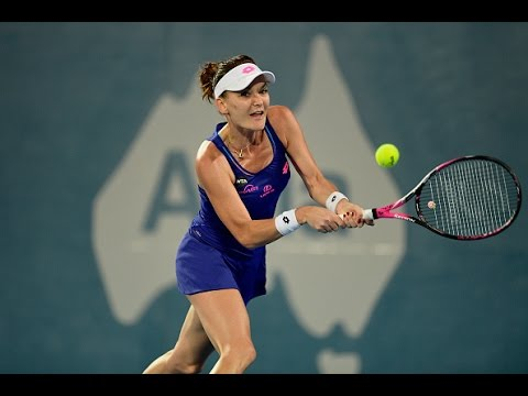 2017 Apia International Sydney Second Round | Agnieszka Radwanska vs McHale | WTA Highlights