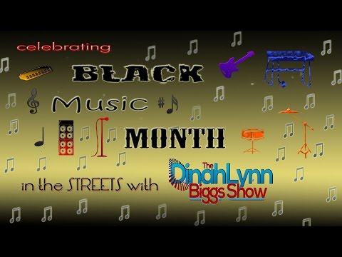 Dinahlynn Biggs Celebrates Black Music Month by Taking It to the Streets  Part I