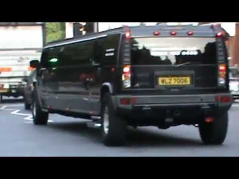 Special long Hummer limousine live! video