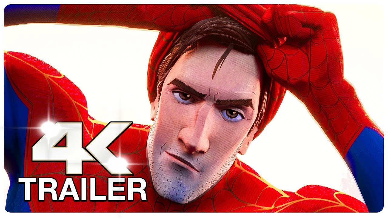 SPIDER MAN: INTO THE SPIDER VERSE Final Trailer (4K ULTRA HD) 2018