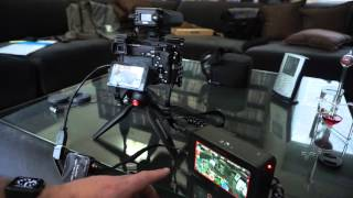 sony a6500 a6300 adding external headphone for 25 demo audio quality test