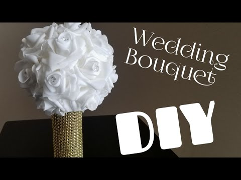 DIY Bouquet using Paper Towel Roll