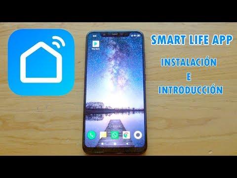 Smart Life APP Instalación E Introducción En Android (Compatible Con Google Home Assistant Y Alexa)