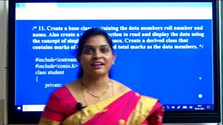 II PUC   Computer Science Practical   C++ and Data structure programs-06