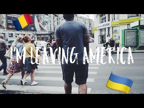 I'M LEAVING AMERICA (Romania Travel Vlog)
