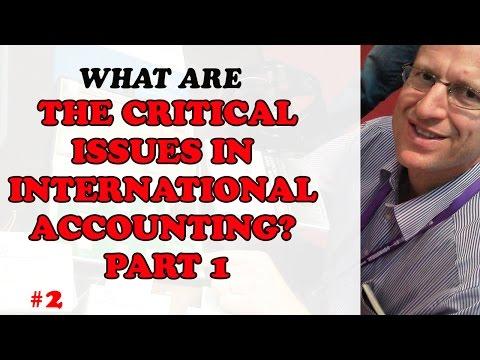 CPA - International Accounting Week 2 - Part 1