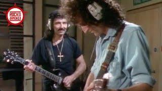 Brian May & Tony Iommi Recording Together