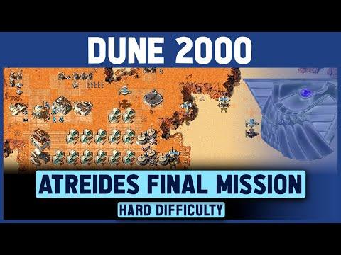 Dune 2000 - Atreides Final Mission (Left Map) - Hard Difficulty - 1920x1080