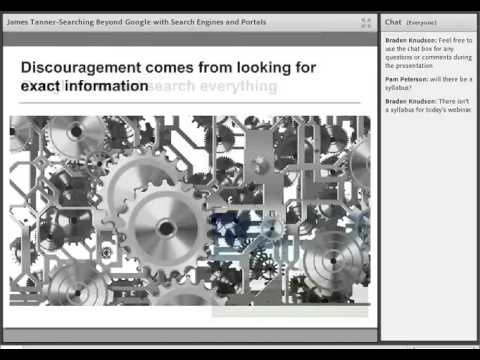 Searching Beyond Google with Search Engines and Portals - James Tanner