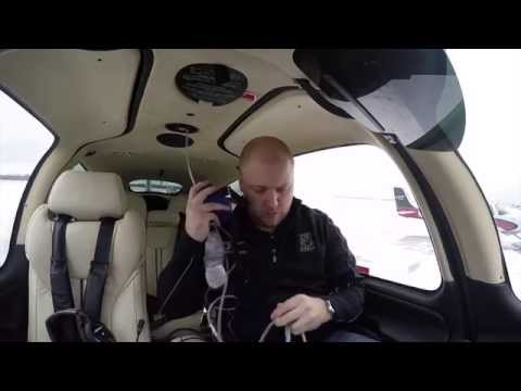 High Altitude Flying and using the Oxygen System
