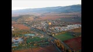 Hot Air Balloon Ride over Napa Valley Wine Country-California
