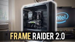 i9 9900K + RTX 2080 Ti PC Build - FRAME RAIDER 2.0