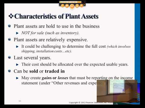 what is plant asset