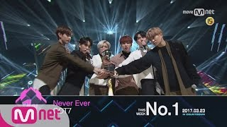Top in 4th of March, 'GOT7' with 'Never Ever', Encore Stage! (in Full) M COUNTDOWN 170323 EP.516