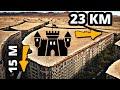 4 этажа под землей и 23 км туннелей : Секретный замок Беларуси