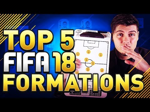 TOP 5 BEST FORMATIONS IN FIFA 18 FUT CHAMPIONS! (UPDATED) -- THE ULTIMATE TEAM GUIDE --
