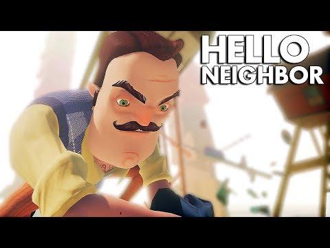 Hello Neighbor BETA - BORBA SA KOMSIJOM!? (ZADNJI PODRUM)