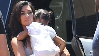 Kim Kardashian Takes Kanye West To Father