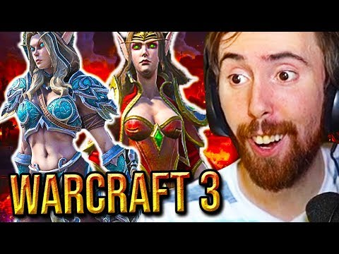 Asmongold Is Excited About The Latest WARCRAFT 3 REFORGED Models