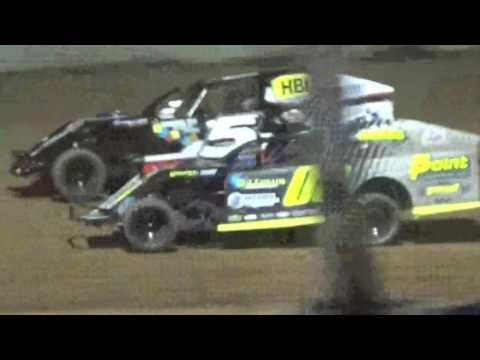 IMCA Mod Feature Luxemburg Speedway Luxemburg Wisconsin 5/12/17