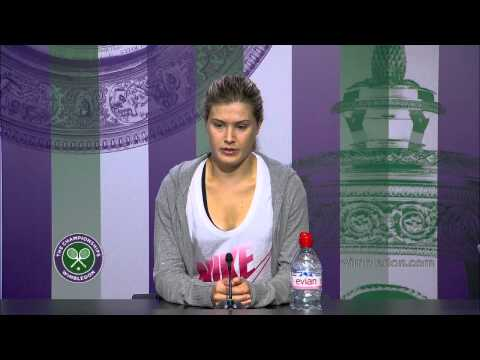 Eugenie Bouchard Semi-Final Press Conference