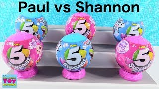 Baixar Paul vs Shannon 5 Surprise Challenge Toy Opening Review | PSToyReviews