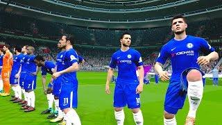 Chelsea vs Manchester United 05/11/2017 Gameplay