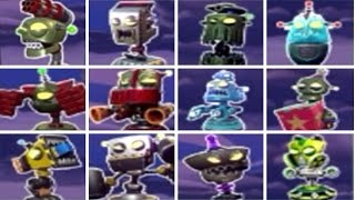 Plants vs. Zombies: Garden Warfare 2 - All Bots (New Spawnable Turrets) thumbnail