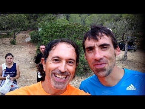 Entrenamiento en Les Rodanes con Luis Alberto Hernando