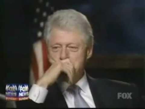 Bill Clinton Kicks the Crap out of Fox News Part 1