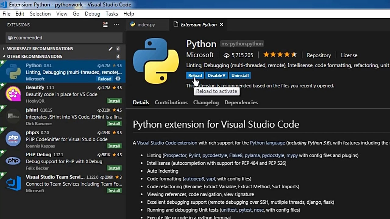 Visual Studio Code Python File | How To Run Python in Visual Studio Code