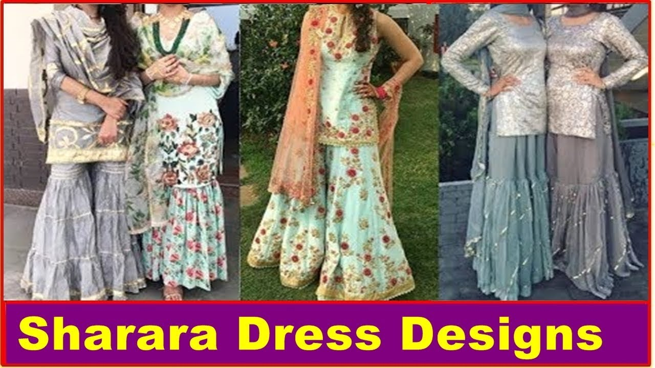 0a3601f516 Latest Sharara Dress Designs For Girls | Photos | images | Pictures | Pics  | 2018