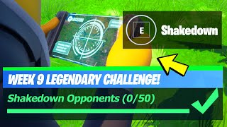 Shakedown Opponents & Shakedown an IO Guards - Fortnite