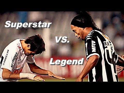 Ronaldinho vs. Neymar Jr. - Ultimative Skill Battle | Legend vs. Superstar 2017/2018 | HD