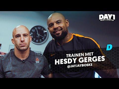 Explosieve workout met kickbox heavyweight Hesdy Gerges || #DAY1 Afl. #45