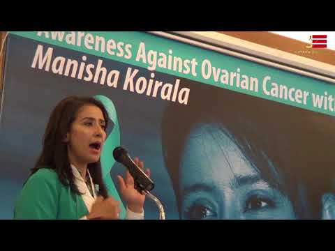 Manisha Koirala || Awareness Against Ovarian Cancer with Manisha Koirala