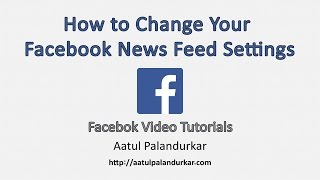 facebook news feed preferences
