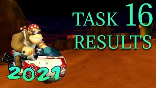 MKWii TAS Competition 2021 - Task 16 Results