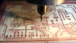 PCB on CNC