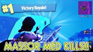 FÅR MÅNGA KILLS I ETT SNIPER ONLY GAME!!! - Fortnite Battle Royale på svenska