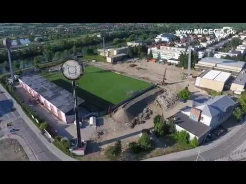 Trenčín 2018, Futbalový štadión AS Trenčín